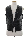 Mens Leather Vest