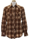 Mens Wool Western Shirt
