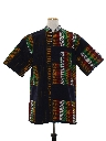 Mens Ethnic African Hippie Style Shirt