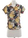Womens Print Disco Style Shirt