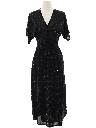 Womens Disco Wrap Dress