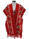 Womens Hippie Poncho Sweater