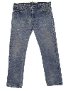 Mens Levis 501 Stone Washed Denim Jeans Pants