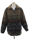 Mens Wool Car Coat Jacket