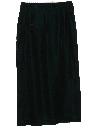 Womens Velvet Skirt