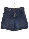 Womens Wicked 90s High Waisted Denim Shorts