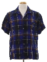 Mens Flannel Mod Sport Shirt