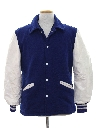 Mens Wool Letterman Jacket