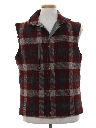 Mens Totally 80s Reversible Wool Vest