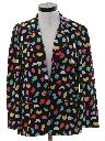 Womens Totally 80s Boyfriend Style Blazer Jacket