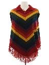 Womens Hippie Poncho Jacket