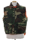 Mens Reversible Hunting Vest Jacket