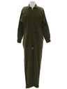 Womens Totally 80s Corduroy Jumpsuit