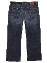 Womens Slight Bootcut Flared Denim Jeans Pants