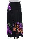 Womens Hawaiian Style Wrap Skirt