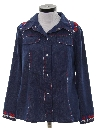 Womens Western Denim Leisure Jacket