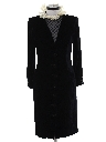 Womens Designer Velvet Wiggle Cocktail Dress