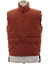 Mens Totally 80s Western style Ski Vest Jacket