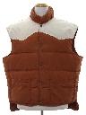 Mens Totally 80s Western Style Ski Vest Jacket