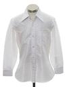 Mens Subtle Print Cotton Blend Disco Shirt