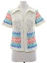Womens Knit Shirt-Jac Shirt
