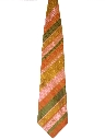 Mens Wide Diagonal Necktie