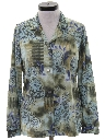Womens Print Disco Inspired Shirt