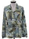 Womens Print Disco Inspired Shirt
