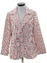 Womens Disco Blazer Sport Coat Jacket