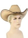Mens Accessories - Wide Brimmed Western Hat