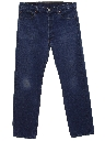 Mens Buttonfly Jeans Pants