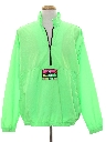 Mens Totally 80s Neon Windbreaker Jacket