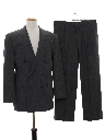 Mens Totally 80s Swing Style Suit