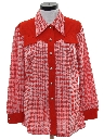 Womens Knit Shirt-jac Shirt