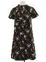 Womens A-Line Knit Dress