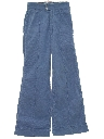 Womens Bellbottom Corduroy Pants