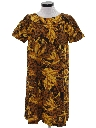 Womens A-line Mod Hawaiian Dress