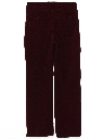 Womens Corduroy Jeans Cut Pants