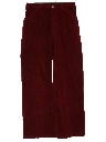 Womens Corduroy Flared Pants
