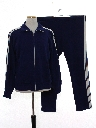 Mens Totally 80s Track Jacket And Matching Track Pants
