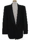Mens Totally 80s Wool Tuxedo Jacket