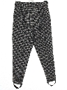 Womens Totally 80s Stirrup Pants