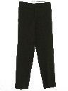 Mens Mod Flat Front Uniform Pants