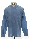 Mens Solid Sport Shirt