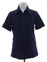 Womens/Girls Solid Disco Shirt
