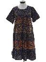 Womens Ethnic Hippie Dress