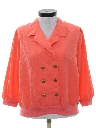 Womens Totally 80s Shirt Jacket