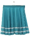 Womens Square Dance Circle Skirt