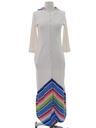 Womens Maxi Terry Cloth Robe