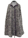 Womens Wool Cape Jacket